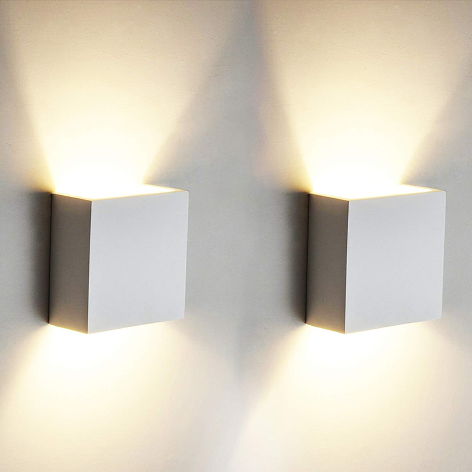 2 Pcs 6w Led Wall Light Up Down Indoor Oowolf